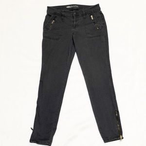 Old Navy Rockstar skinny jeans with ankle zippers